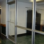 Commercial Glass Storefront Austin, TX With Glass Door