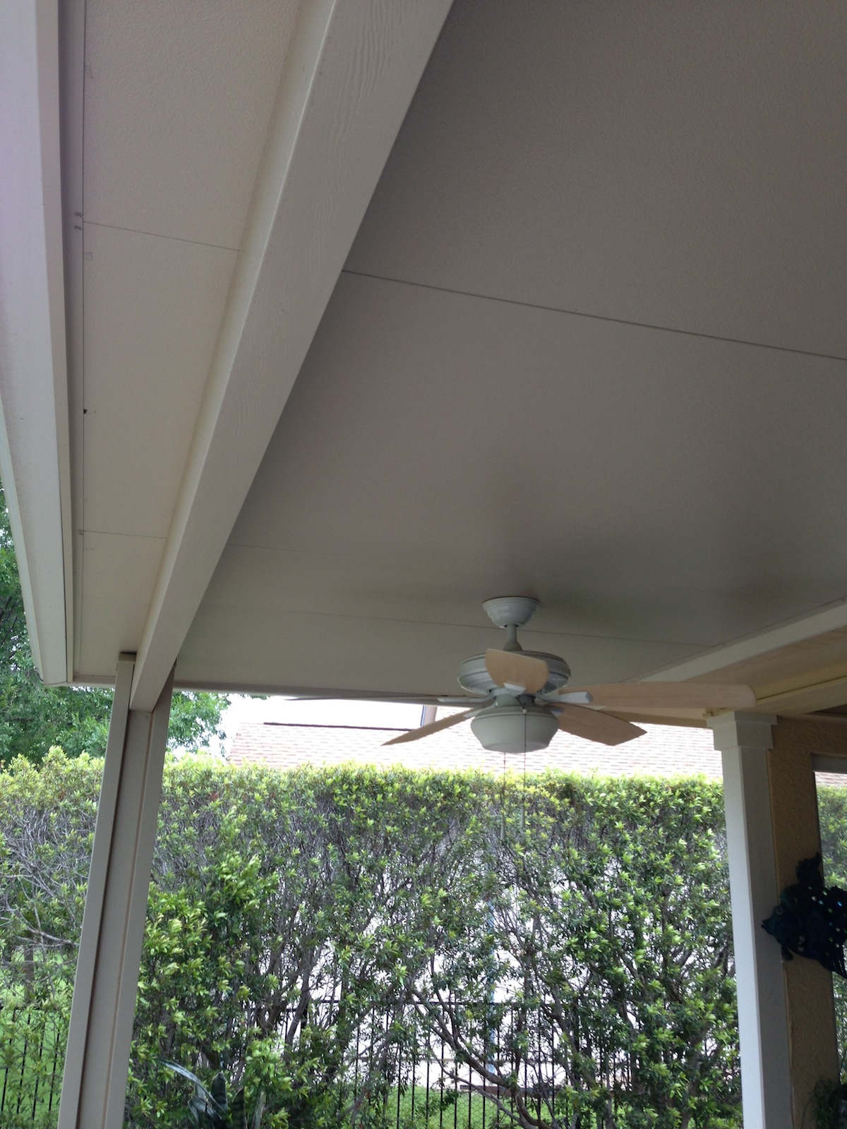Porches Amp Patio Covers Solar Screen Fogged Window And