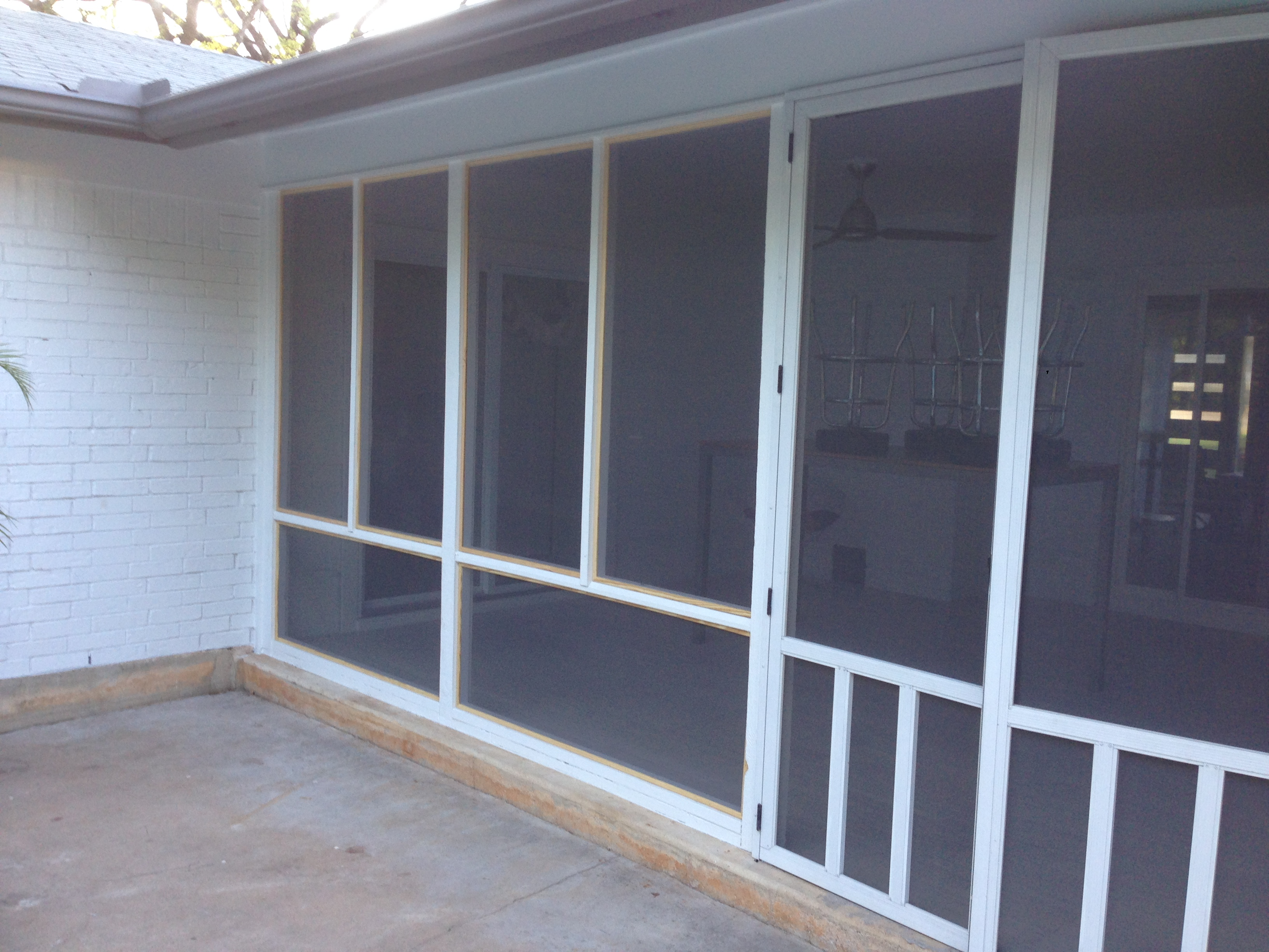 porches patio covers solar screen fogged window and