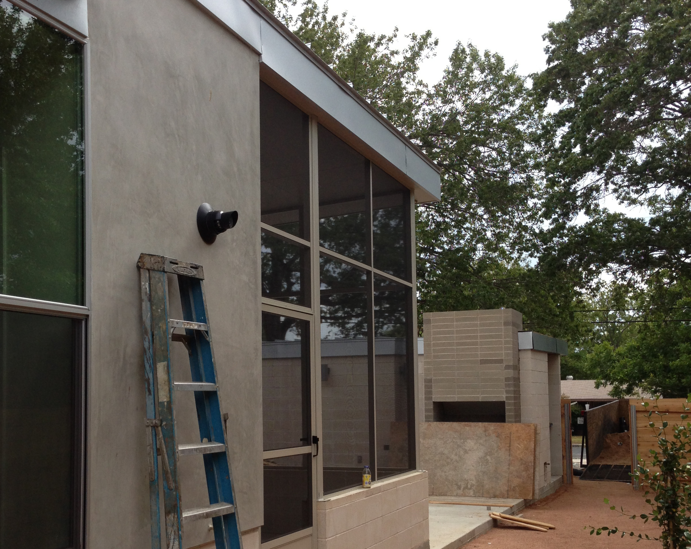 Solar Screens Patio Enclosure In Austin TX
